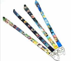 Popular anime ONE PIECE Lanyard Premium ID Badge Holder Key Neck Strap 20Pcs