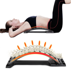 Dropship Rückseitemassager-Stretcher Fitness Massage Geräte Stretch Relax Stretcher Lordosenstütze Spine Pain Relief Chiropraktik