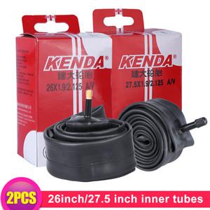 Kenda 2pcs Bike Inner Tube For Mountain Road Bike Tyre Butyl Rubber Bicycle Tube Tire 26 27.5 inch Presta Schrader Valve Tube