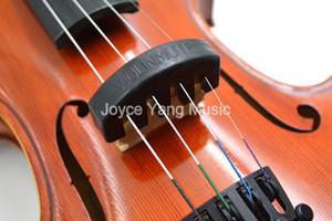 10шт черные 5 Когтей Rubber Скрипка Mute Глушитель Quiet Practice Скрипка Mute Уменьшение громкости Для 1/2 3/4 4/4 Скрипки Box Бесплатной доставки