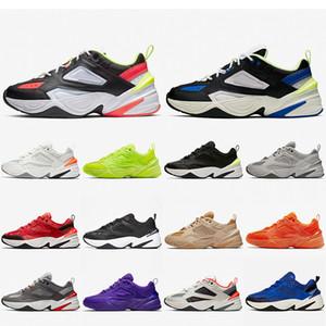 Nike M2K TEKNO Air M2K Tekno Zoom 2K Moda Tasarımcısı Baba Kadın Erkek Koşu Ayakkabıları Monarch Yarış Mavi Süet Kırmızı Hiper Yeşim Volt Siyah Beyaz Spor Sneakers