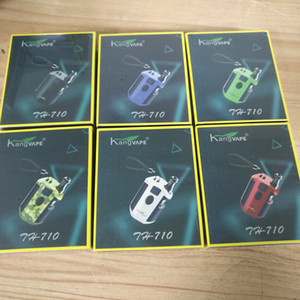 Authentic Kangvape TH710 Kit With 650mAh Battery TH-710 th 710 Box Mod For 0.5ml Thick Oil G2 G5 K5 Vape Cartridges