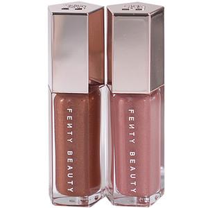 7 colores brillo labial a prueba de agua resplandor Lipkit pigmento oscuro larga duración diamante brillo de labios de las mujeres de maquillaje Lipgloss