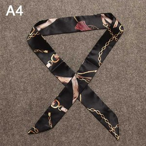 Designer Accessories Silk Scarf For Handbags Fashion Tote Bag Headscarf Luxury Pattern Wild Silk Scarf for Tied Bag Wholesale 40 Styles 2020