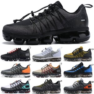 2019 Нового прибытия Mens Run Полезность воздух Повседневной обувь Designer MVapors Zapatos для мужчин марки водоотталкивающего Chaussures Maxes тройных черного