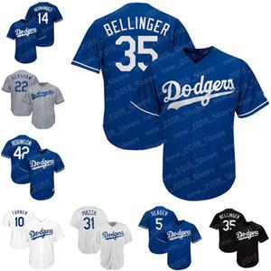 22 Kershaw Dodgers 10 Turner Los Angeles 35 Bellinger 5 Seager 14 Hernandez 42 Robinson 23 Gonzalez 31 Pederson 31 Piazza