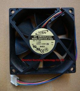 Новый ADDA 8025 8 см вентилятор AD0812UB-A7BGL 12 в 0.26 a 4wires