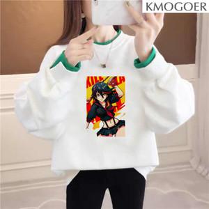 La Kill Hoodie Hipster Kawaii Women Tee Pullover Long Sleeve Aesthetic Streetwear Tee Hoodie Women Dropshipping Long Sleeve
