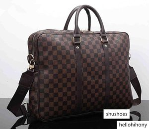 Luxury Hand Woven Business Briefcase PU Leather Fashion Laptop Bag Mens Document Holder Briefcase Handbag