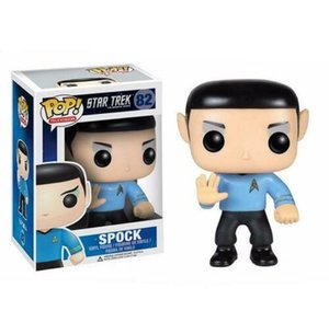 Funko POP Movie Star Trek Spock Model Toy 10CM Vinyl Doll Action Figure come with box