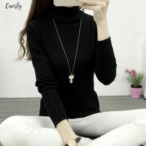 Women New Knitted Autumn Winter Sweater Women Long Sleeve Thick Turtleneck Sweaters Pullovers Female Jumper Tricot Tops Yp2000