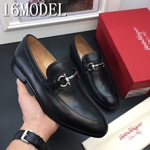 19SS luxurious Brans Fashion Soft Moccasins Men Loafers High Quality Genuine Leather Shoes Mens Flats Suede Driving Shoes Khaki Size 38-45