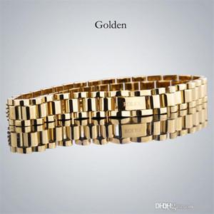 bracelets hommes RO de haute qualité en acier inoxydable GLACÉ bracelet Lury desner Bracciali pour les femmes Drop Shipping