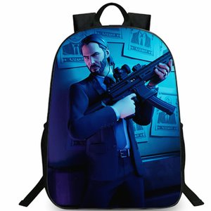Wick backpack John Suits and ties daypack Fort game photo schoolbag Print rucksack Sport school bag Outdoor day pack