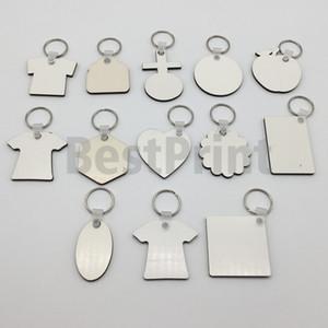 DIY Sublimation Schlüsselanhänger Druck doppelseitig blank MDF Sublimation