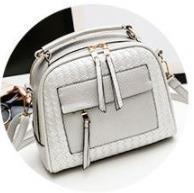 Herbst neue koreanische Version Damentasche Mode einfache handgewebte Tasche Chaozhou One Shoulder Oblique Name Yuanyuan Damentasche