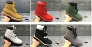 Heißer Verkauf- Martin Stiefel Laufschuhe für Männer Sneakers braun Knöchel Stiefel Schneestiefel westlichen Cowboy-Stiefel Größe 36-46