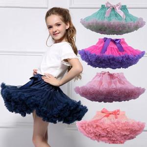 Mädchen-Ballettröckchen-Rock-Kinder-Ballett Fluffy Pettiskirt Prinzessin Tulle Partei-Tanz-Röcke Kinder Adult Boutique Tutu