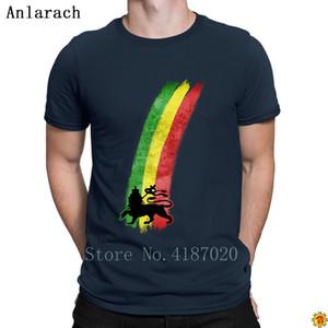 Shirt Ultime lettere impressionanti maglietta Leone Reggae T per gli uomini Creatura Top Tee vendita calda Anlarach S-3XL