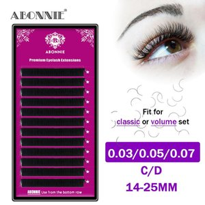 25mm Mink Lash Trays Eyealshes for Extensions Long Individual Russian Eyelash Extensions Black Matte Lash