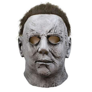 Film Horreur Michael Myers Halloween Masque Cosplay Effrayant Masques En Latex Casque Costumes De Fête
