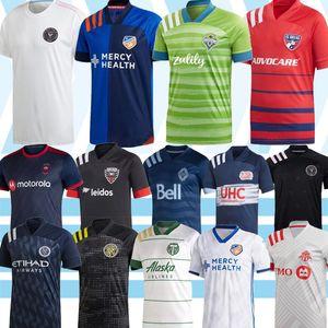MLS 2020 Atlanta Estados Inter Miami DC United Houston Dynamo LAFC Montreal Impact Chicago Columbus Colorado Rapids Toronto camiseta de fútbol