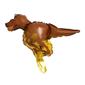 10pcs Dinosaur Aluminum Foil Balloons Kids Party Decoration Birthday Toys