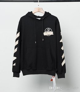 Womens designer hoodies OW new letter printing arrow pullover hoodie casual plus size loose sweater European version QLUL
