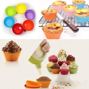 24 Pcs moule 3D silicone gâteau Fondant chocolat moule Outils de cuisson décoration couleur aléatoire