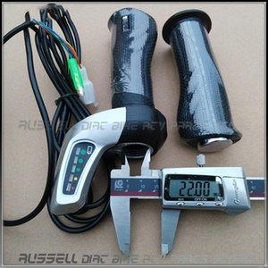 48V 36V 24V Electric Scooter Throttle Twist Grips Power Display LED Battery Indicator DC