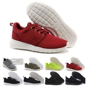 할인 실행 남성 여성 캐주얼 신발 런던 올림픽 로스 검은 색 빨간색 흰색, 회색 파란색 야외 산책 운동화는 우리에게 5-11 신발