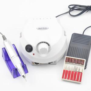 مسمار جديد 30000RPM الكهربائية الحفر آلة كهربائية مانيكير آلة الحفر ملحقات بالأقدام عدة الأظافر أدوات الحفر بت ملف الأظافر