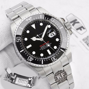 Glide Lock Water proof Favour Designer Mens 126603 43m Red SEA-DWELLER Men Mechanical Automatic Watches Movement Wristwatches Gold Watch