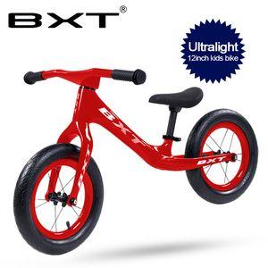 12 pouces enfants vélo ultraléger en fibre de carbone Cadre Sans Walker vélo vélo enfant carbone complet de pédales enfants