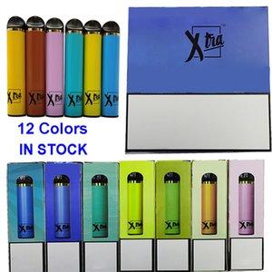 Xtra Vape kits Disposable Vape Pens E Cigarettes Vape Stick Pod Device 5ML Empty Oil Cartridge Packaging Battery Starter Kits Vaporizers