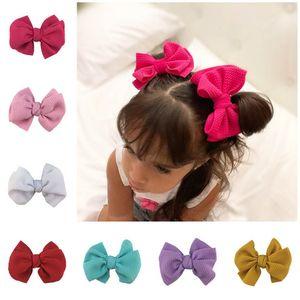 In heißen Verkaufshandarbeit Haarbögen A8396 Mädchen Haarspangen Baby BB Clips Kinder Barrettes-Baby Haar-Accessoires Mädchen Baby-Zubehör