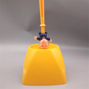 Tools Toilet Trump Brush Home Soft Hair Long Handle Hotel Accessories With Base Bathroom Portable Corner Scrubbing Magnetic Cleaning#568