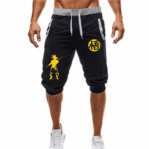 Shorts décontractés de mode Dragon Ball Goku Print Pantalons de survêtement Fitness Short Jogger M-3xl Y190508
