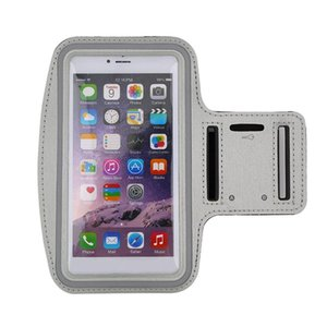 Waterproof Running Jogging Sports Neoprene Armband Case Cover Holder with Reflective Strip for iPhone 6 Plus