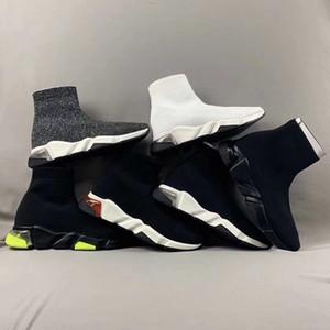 sapatos de grife VELOCIDADE SNEAKER 3D Stretch-malha homens luz extra sapatos VELOCIDADE CLEARSOLE Limpar Sole mulheres Ultra-flexível único luxo sapatilha