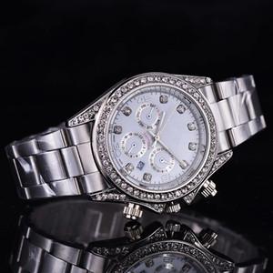 2019 reloj hombre MS 디자이너 시계 새로운 브랜드 골드 손목 시계 태그 드레스 다이아몬드 시계 남성 자동 일 날짜 실버 다이얼 시계