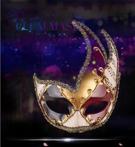 Halloween Maske Venedig Masken Halloween Weihnachten Festival Cosplay Kostüm Supplies Party Anonymous Masken Mascaras Para Fiestas