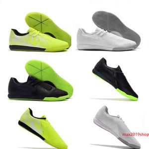 Новый 2019 Увеличить Phantom VNM Pro TF IC Venom Turf Indoor Новые огни под радаром Футбол Футбол обувь сапоги Бутсы