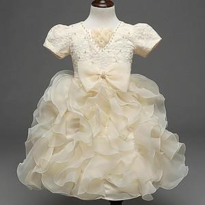 sevimli doğum günü kıyı elbise Yeni stil NESW pruva Sıcak çocuk gelinlik