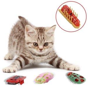 Pet Cat Giocattoli sensore a infrarossi intelligente Escaping Giocattolo automatico interattivo Passeggiata giocattoli per animali Pet Supplies Accessori altro gatto