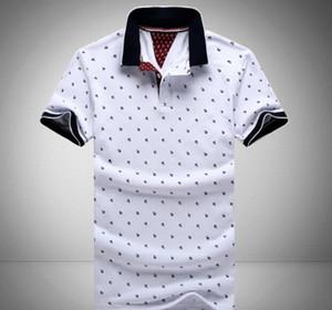 Фото оформление новых людей печатных рубашки 100% хлопка с коротким рукавом Camisas Стенд воротник мужские рубашки M-3XL