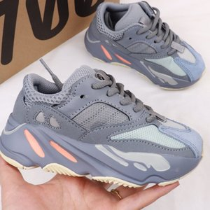 Kanye West Wave Runner 700 Mauve Running Shoes Children Sply 700s V2 Sports Infant toddler Trainers Casual Sneakers size 28-35