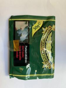 مصنع السجائر BOX تدخين التبغ GOLDEN فرجينيا التعبئة والتغليف 10PACKS التبغ السجائر / الكثير (500G) جمع الملاكمين البلاستيك التبغ