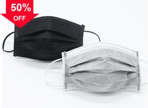 iRvgr 3 Layers dust-proof masks pollution DHL FAST shipping Face mask with elastic earrings Disposable anti dust