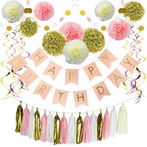 Balon Doğum Günü Partisi Dekorasyon Çocuklar için Hediye Disposable Sofra Dropshipping doğum günü partisi Dekor Malzemeleri ayarlar